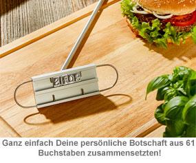 Grillbrandeisen - Grillkönig Papa - 2