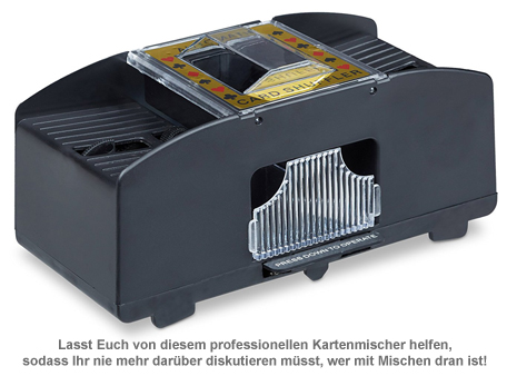 Elektrische Kartenmischmaschine - 2