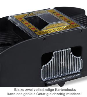 Elektrische Kartenmischmaschine - 3