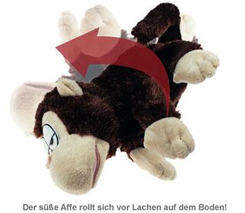 Kuscheltier Affe mit Bewegungssensor und Sound - 2