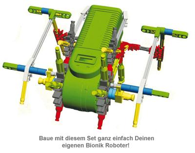 Bionik Roboter zum Selberbauen - 2