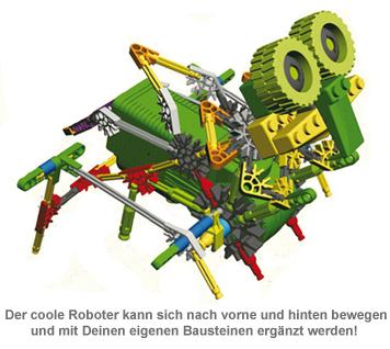 Bionik Roboter zum Selberbauen - 4