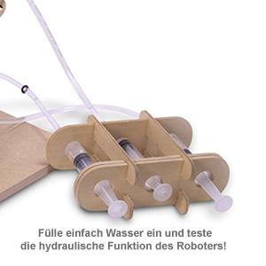 Hydraulischer Robotererarm zum Selberbauen - 3