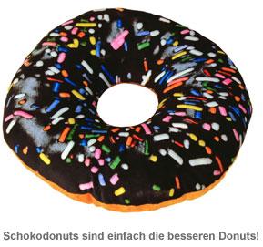 Dekokissen Donut - zwei Farben - 3
