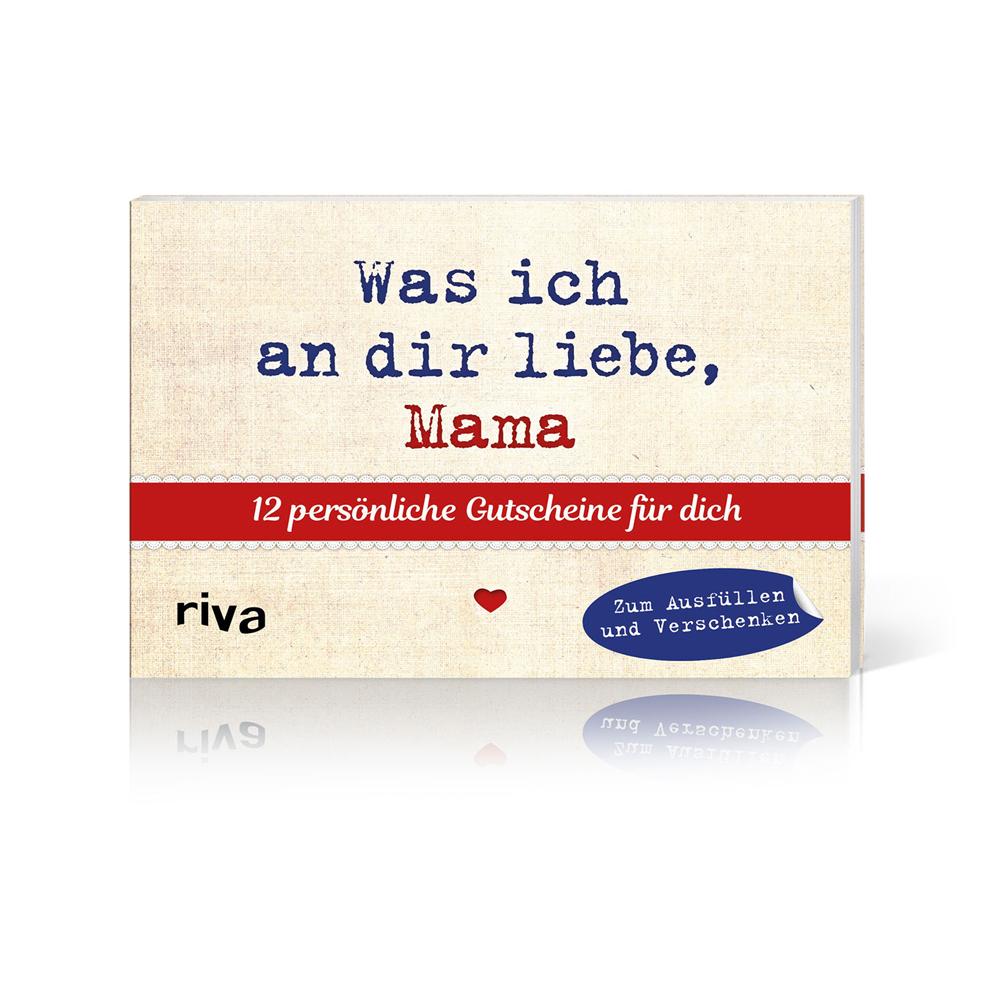 Kleines Gutscheinbuch zum Ausfüllen - Mama - mit Zitaten
