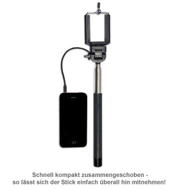 Click Stick - Selfie Stick zum Ausziehen - 2