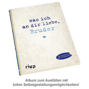 Buch zum Ausfüllen - Was ich an Dir liebe, Bruder - 2