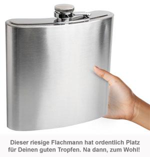 Riesen Flachmann - 1,1 l - 2