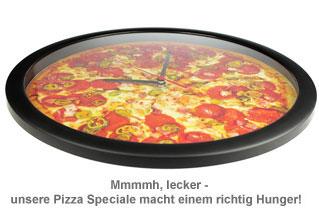 Wanduhr - Pizza - 2