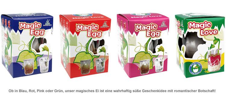 Magic Egg mit Liebesbotschaft - 2