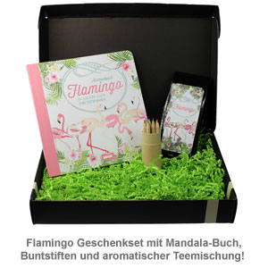 Flamingo Geschenkbox - 2
