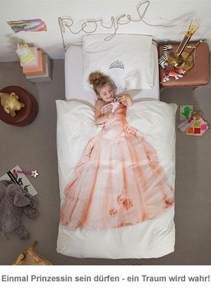 Kinder Bettwäsche Set - Prinzessin - 3