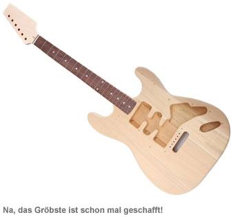 E-Gitarren Bausatz - Premium Edition - 2