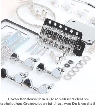 E-Gitarren Bausatz - Premium Edition - 3
