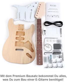 E-Gitarren Bausatz - Premium Edition - 4