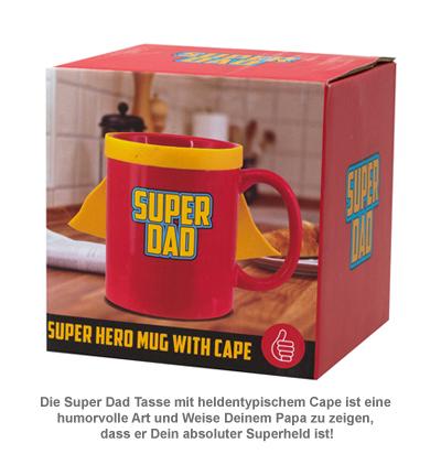 Super Dad Tasse mit Cape - 2