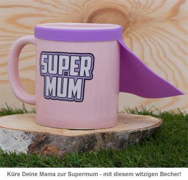Super Mum Tasse mit Cape - 2
