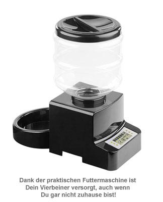 Futterautomat für Katzen und Hunde - mit Zeitschaltuhr - 2