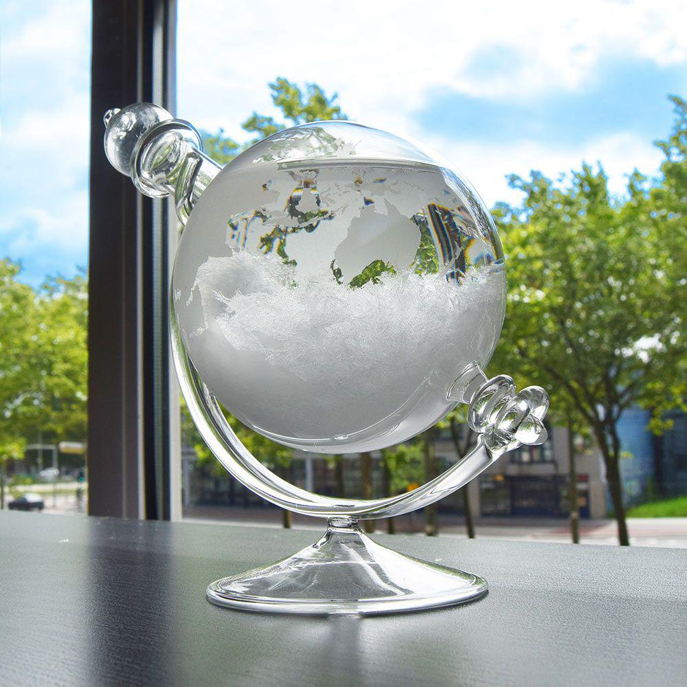 Sturmglas zur Wettervorhersage - Globus - 3