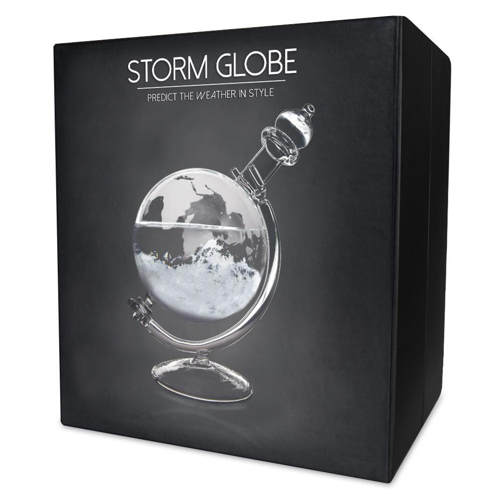 Sturmglas zur Wettervorhersage - Globus - 4