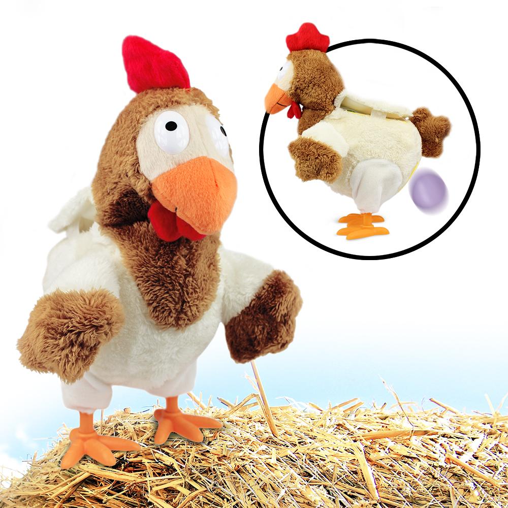 Eierlegendes Huhn Mit Musik Eier Legen Plüsch Spielzeug Puppe Geschenke für