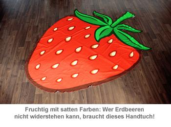 Erdbeer Handtuch - 2