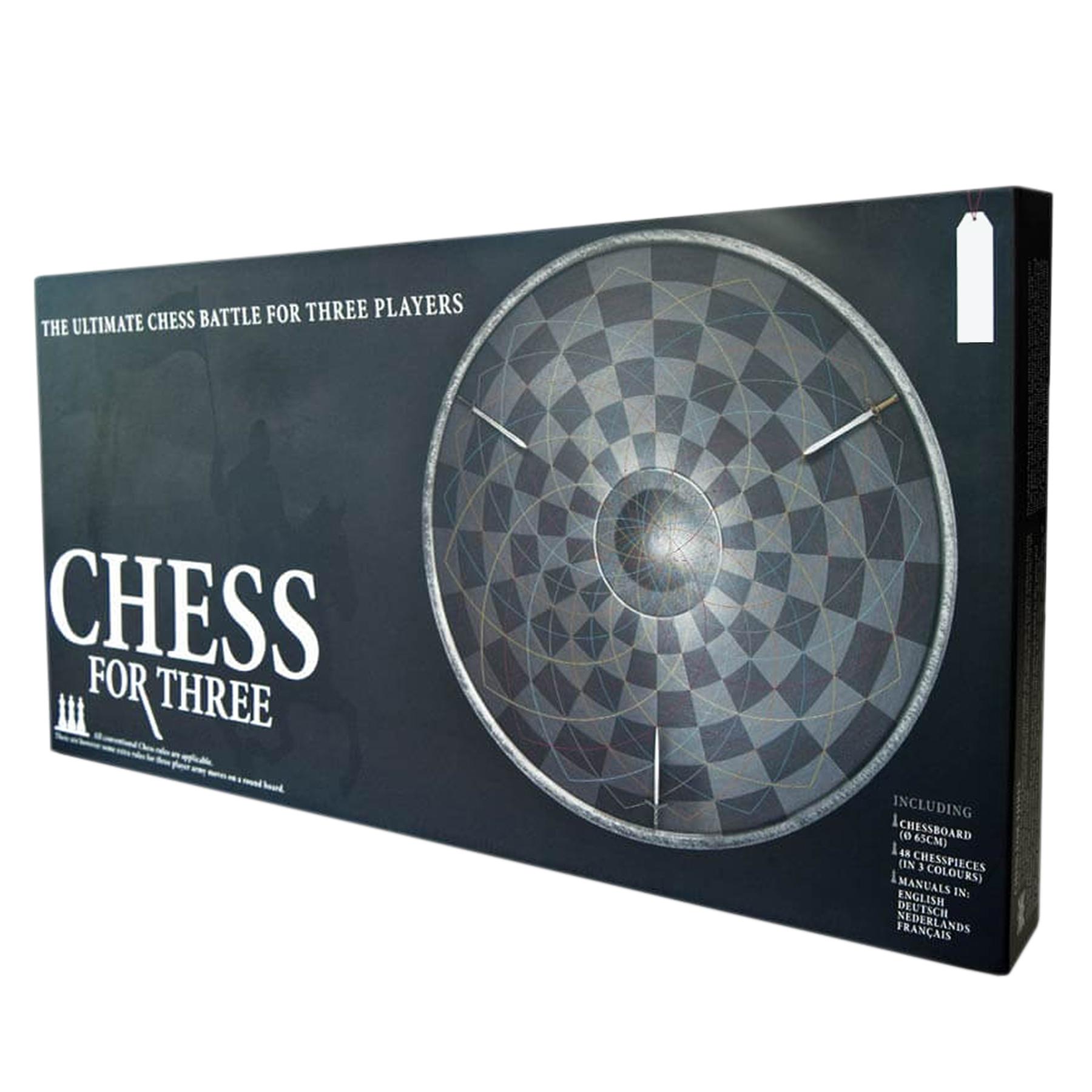 Drei Personen Schach