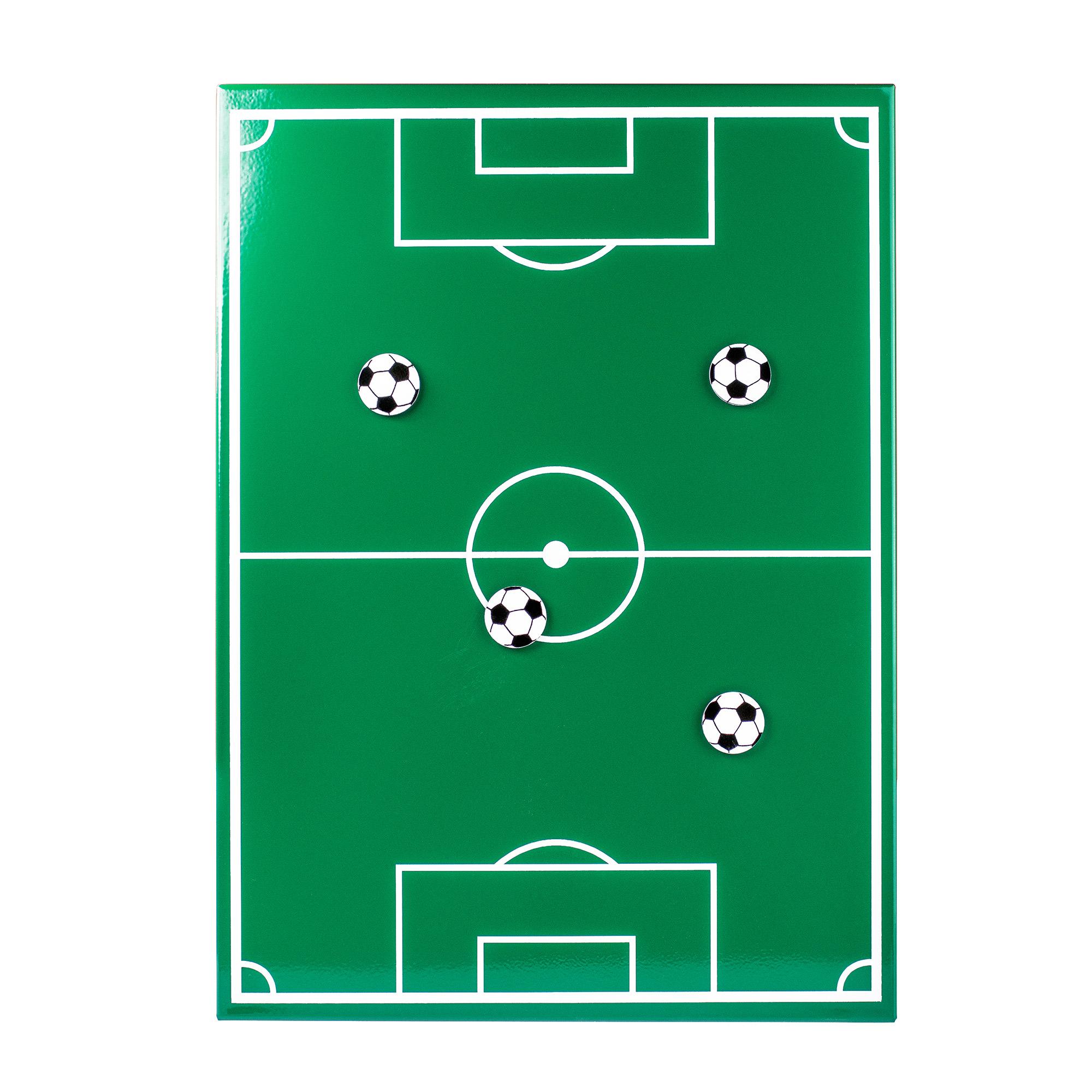 Magnettafel Fussball Memoboard Inklusive Vier Ball Magneten