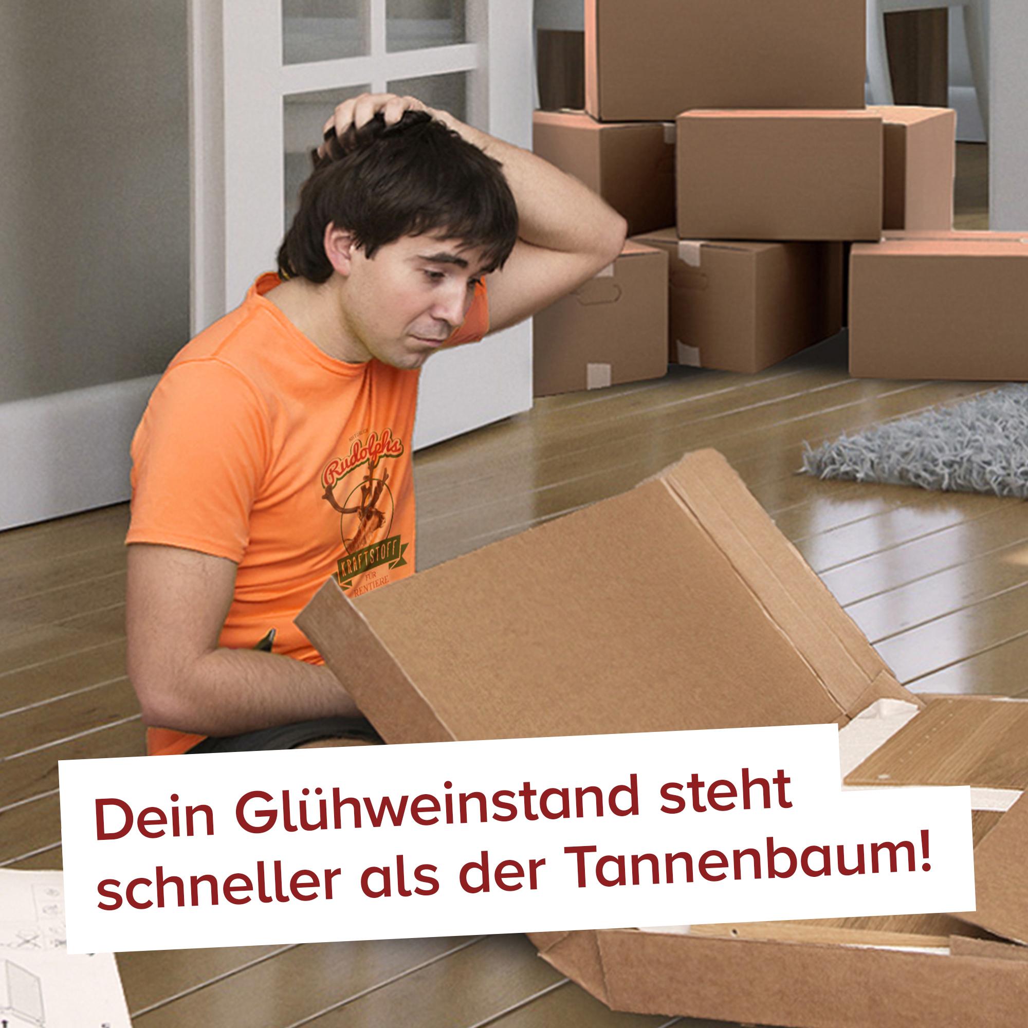 Glühweinstand fürs Wohnzimmer - 51.004-teiliger Bausatz - 5