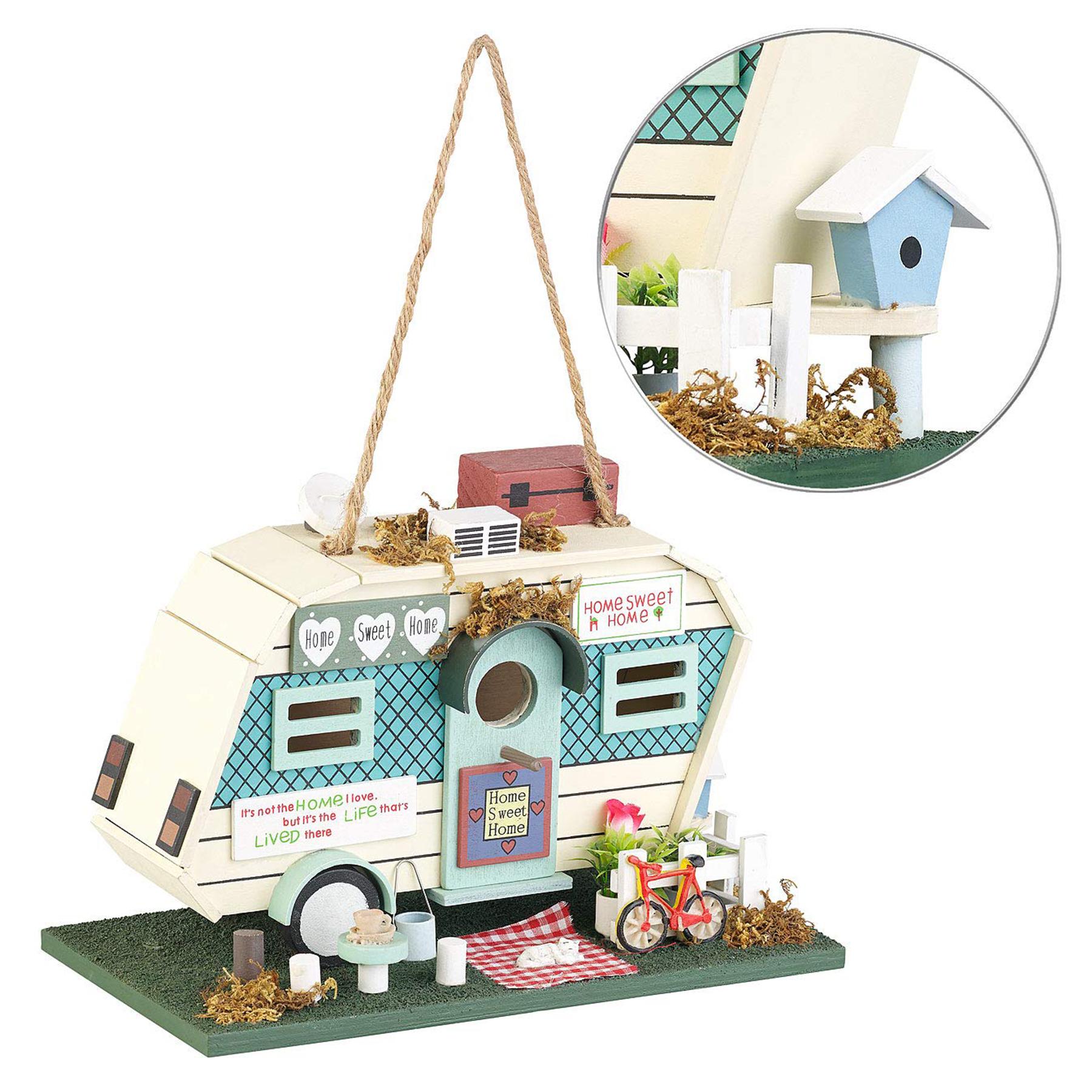 Der Nistkasten Wohnmobil ideales Zuhause für Vögel