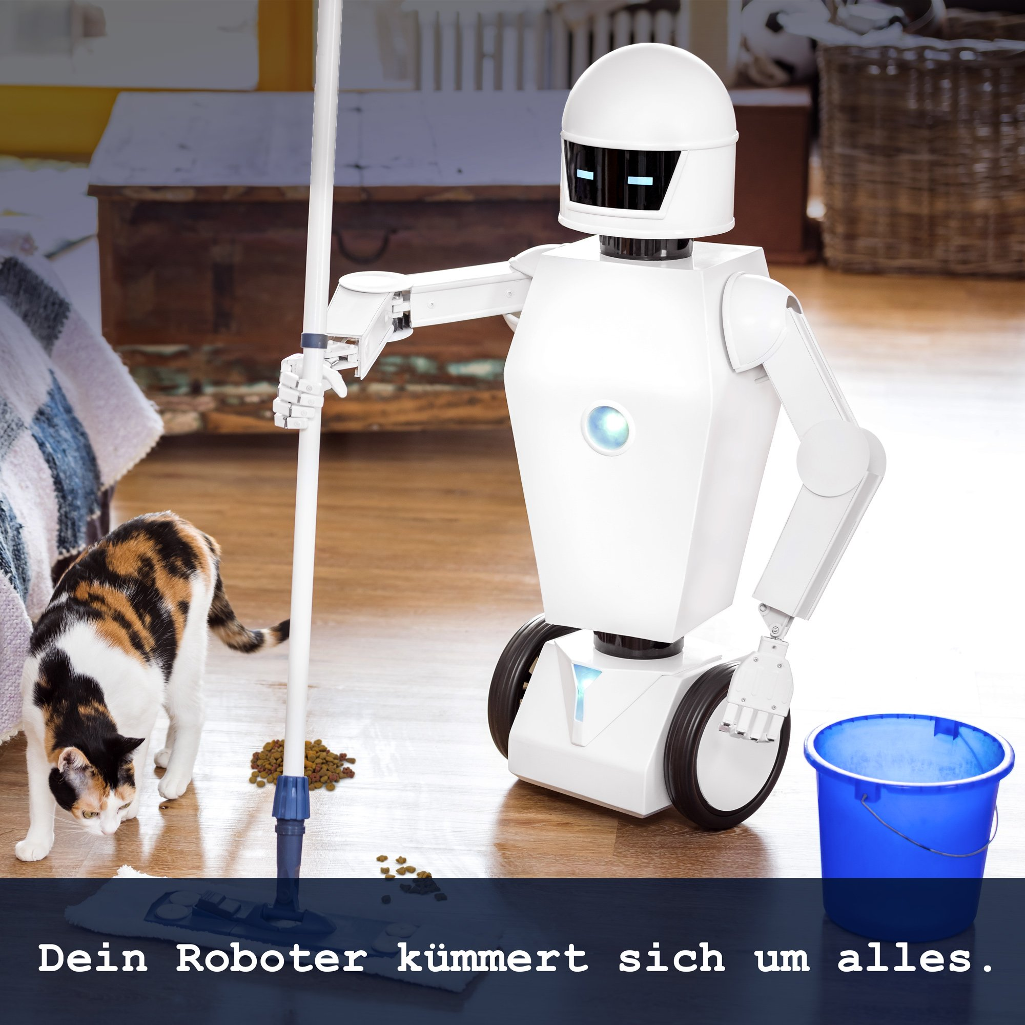 Universal Haushaltsroboter mit künstlicher Intelligenz - 3