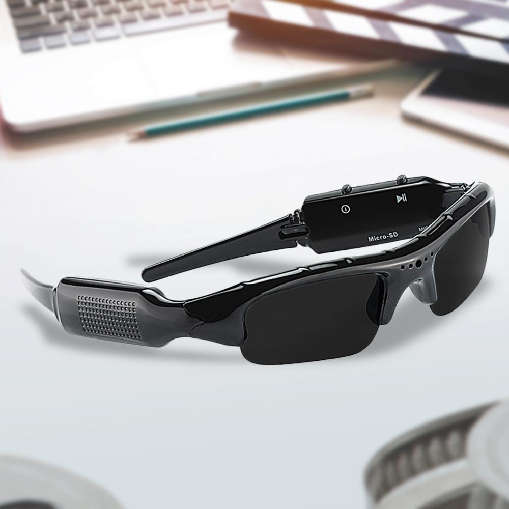 Action Cam HD Kamera Brille Sonnenbrille mit integrierter