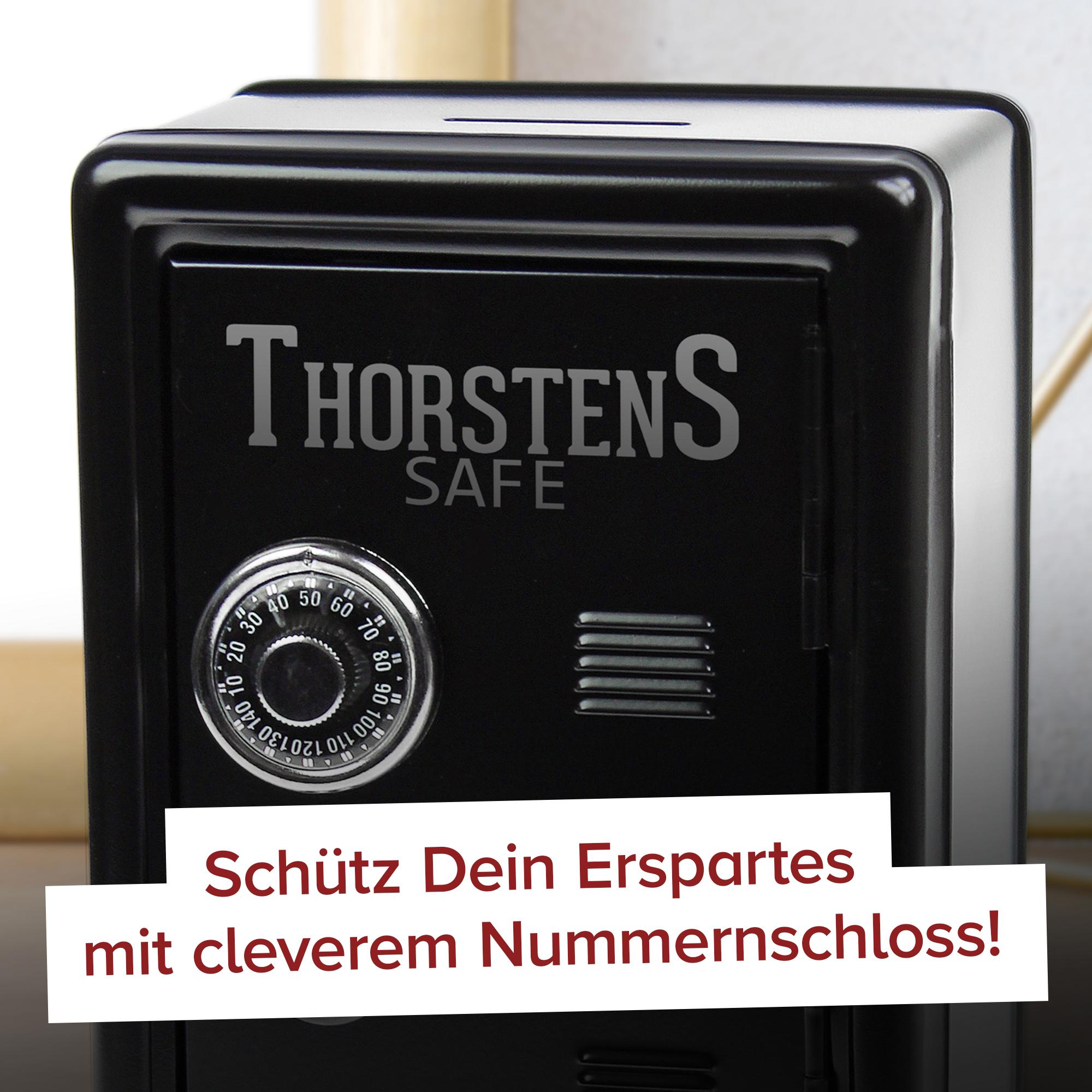 Spardose Tresor - schwarz - 2