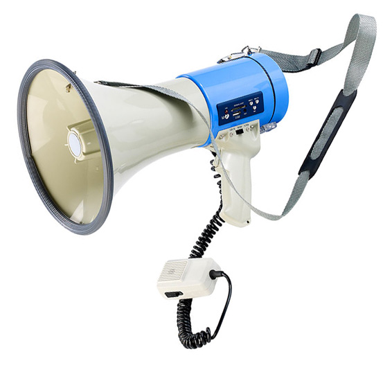 Megafon mit Power Volumen und Mp3-Player - 2