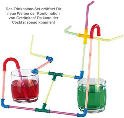 Strohhalme zum Selberbauen - 3