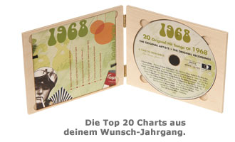 Personalisierte Jahreshits CD - 2
