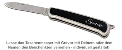 Taschenmesser mit Gravur - 2