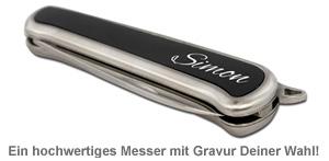 Taschenmesser mit Gravur - 3