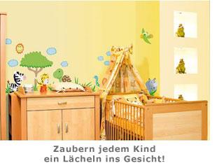 Wandtatoos Kinderzimmer | Kinder Wandtattoos Afrika Sorgen Fur Abwechslung Im Kinderzimmer