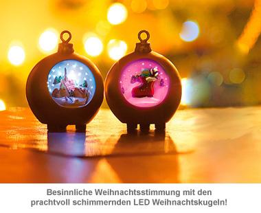 LED Weihnachtskugeln - 2