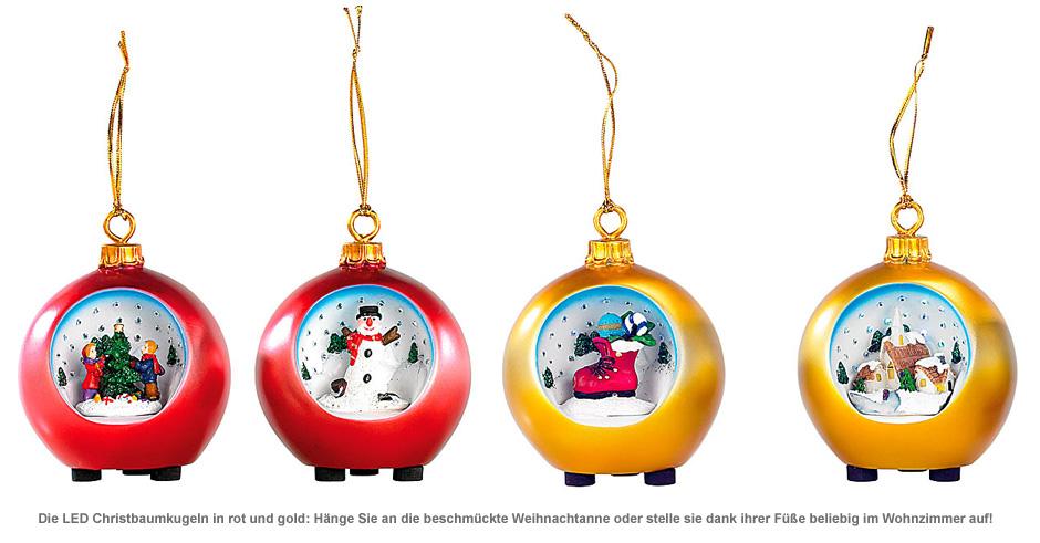 LED Weihnachtskugeln - 3