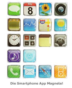 Smartphone App Magnete - 2
