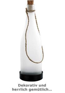 Garten Solarlampe Flaschenpost - 3