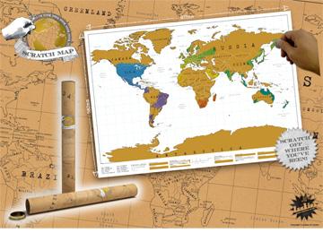 Scratch Map - 2