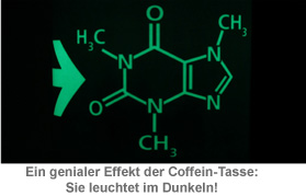 Leucht-Tasse Coffein - 3