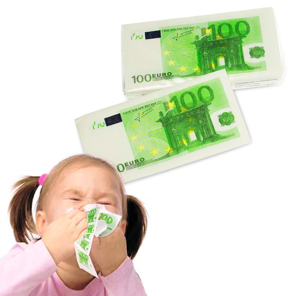 Geld Taschentücher - 3
