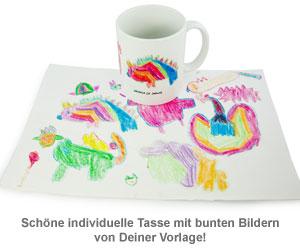 Persönliche Kinderbilder Tasse - 2