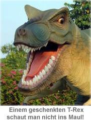 Tyrannosaurus Rex lebensgroß - 3