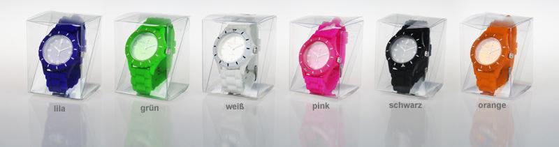 Silikon Armbanduhr - 3
