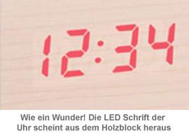 Holzuhr - 2